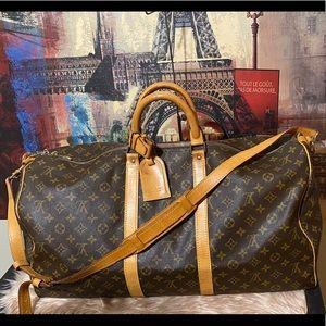 Authentic Louis Vuitton  Keepall Bandoulier 55